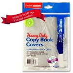Heavy Duty Copy Covers 5 Pack Clear