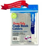 Heavy Duty Copy Covers 10 Pack Clear Student Solutions
