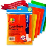 Heavy Duty Copy Covers 5 Pack Transparent Colours Student Solutions