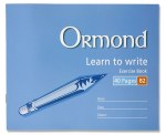 Copy B2 Learn to Write 40 Page Ormond
