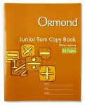 Copy Maths 20mm Square 40 Page Ormond