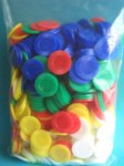 Coloured Counters 500 Pack