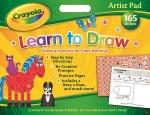 Crayola Artist Pad Learn To Draw
