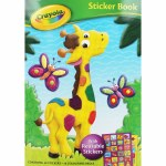 Crayola Sticker Book Giraffe