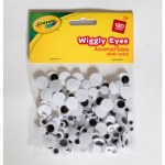 Crayola Craft Wiggly Eyes 180