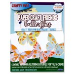 Create Your Own Paper Craft Friends Butterflies