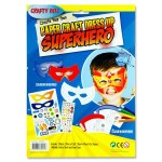 Create Your Own Paper Craft Dress Up Superhero