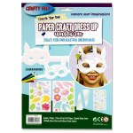 Create Your Own Paper Craft Dress Up Unicorn
