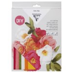 Crepe Paper Kit Bunch Of Flowers