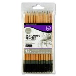 Daler Rowney Simply 12 Graphite Sketch Pencils