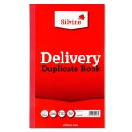 Silvine Duplicate Delivery Note Book