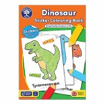 Dinosaur Sticker Colouring Book Orchard Toys