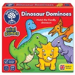 Dinosaur Dominoes Mini Game Orchard Toys