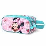 Disney Pencil Case Double Zip 3D Minnie