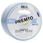 Duct Tape Multipurpose 48mm x 9m Premto Pastel Cornflower Blue