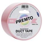 Duct Tape Multipurpose 48mm x 9m Premto Pastel Pink Sherbet