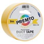 Duct Tape Multipurpose 48mm x 9m Premto Sunshine Yellow