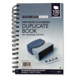 "Full Size 8"" Duplicate Book"
