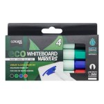 Eco Concept Green 4 Bullet Tip Whiteboard Markers
