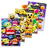 Emotionery 3D Emoji Notebook 50 Pages