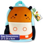 Emotionery Cute Animal Preschool Bag Hippo