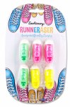 Emotionery Novelty Erasers 6 Runners