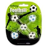 Emotionery Novelty Erasers 5 Footballs