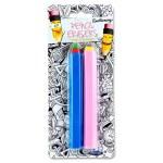 Emotionery Novelty Erasers 2 Giant Pencils