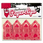 Emotionery Paper Clips Fancy 4 Pack