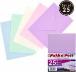 Envelopes C5 Pastel 25 Pack Pukka