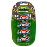 Emotionery Novelty Erasers 4 Racing Cars