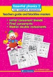 Essential Phonics 2 Blends and Consonants Interactive Software Infant Classes Prim Ed