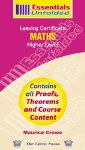 Essentails Unfolded Leaving Cert Higher Level Maths Celtic Press