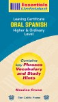 Essentials Unfolded Oral Spanish Celtic Press