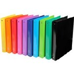 Ring Binder A4 4 Rings Assorted Colours Exacompta