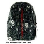 Premier Explore Backpack 25 Litre Letters With Red