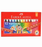 Wax Crayons 12 Pack Faber Castell