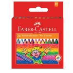 Wax Crayons 24 Pack Faber Castell