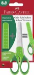 Grip School Scissors Green Faber Castell