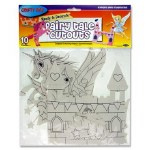 Paper Cut Outs Fairy Tale Packet of 10 Crafty Bitz
