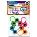 Crafty Bitz Set of 4 Finger Puppet Eyes