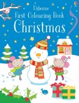 Usborne First Colouring Book Christmas