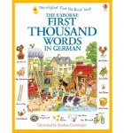 First Thousand Words in German Usborne Book