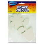 Crafty Bitz Paper Cut Outs Flower Pot 20 Pack