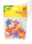 Crayola Craft Foam Stars 80 Pieces