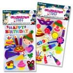 Emotionery Foam Stickers 3D Happy Birthday