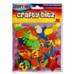 Crafty Bitz Foam Stickers Numbers