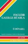 Focloir Gaeilge Bearla Niall O Donaill