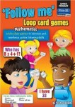 Follow Me Loop Maths Card Games Upper Classes 5th and 6th Class Prim Ed