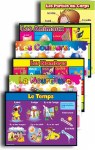 Foreign Language Posters Set of 6 French Posters 1st to 6th Class Prim Ed